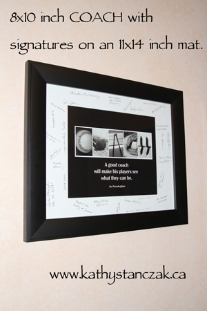 Excellent Kathy Stanczak Photography Gifts for Teacher and Coach DJ64